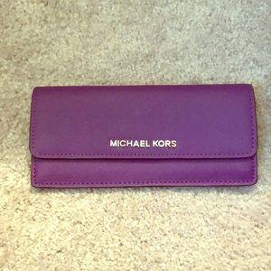 Purple Michael Kors Wallet